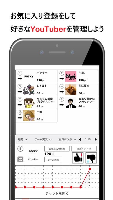 VOTE-YouTuber人気投票アプリ紹介画像4