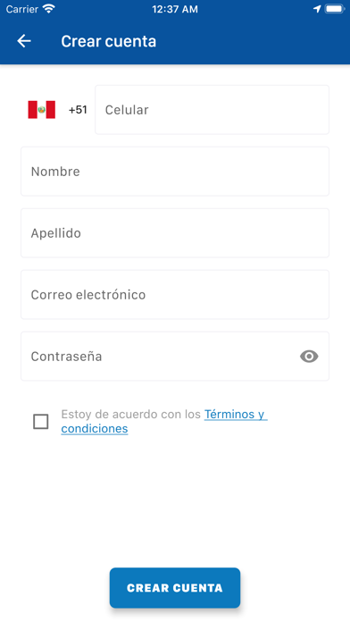 Costa Andina Screenshot