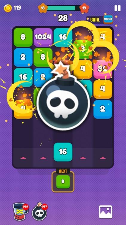 Number Shoot - Merge Puzzle screenshot-5