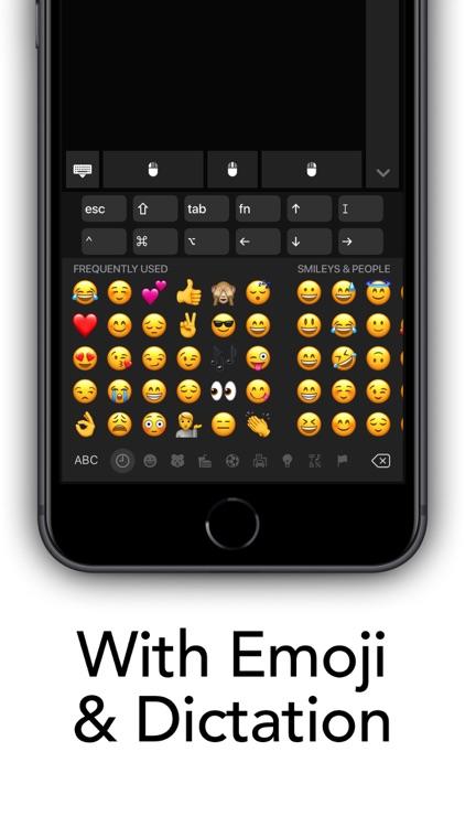 Mobile Keyboard/Trackpad Lite screenshot-3