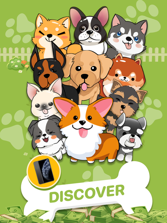 Puppy Town - Merge & Win screenshot 12
