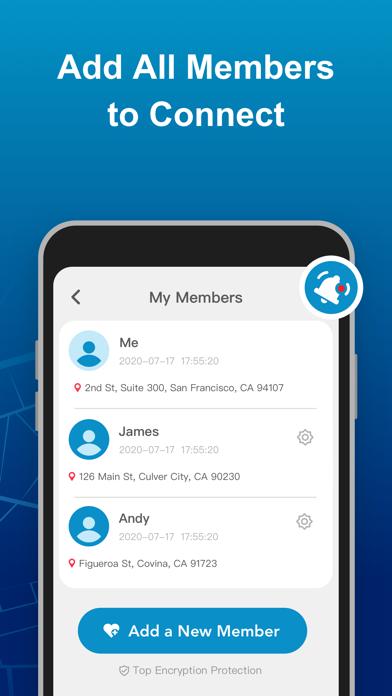 Geospot: Family Phone Tracker Screenshot