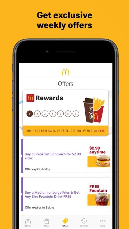 McDonald's Canada screenshot-3
