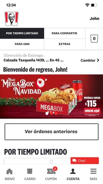 KFC México screenshot-4