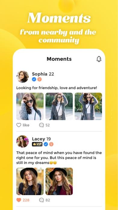 Meete-Meet New Friends Nearby Screenshot