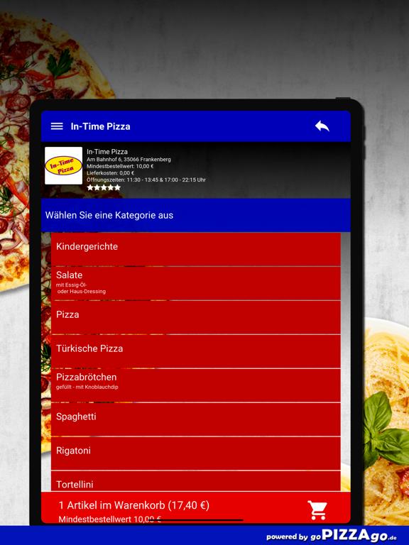In-Time Pizza Frankenberg screenshot 7