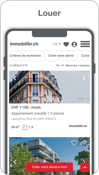 messages.download immobilier.ch software
