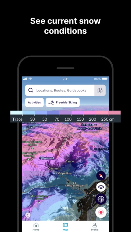 FATMAP: Ski, Hike, Bike Maps screenshot-8