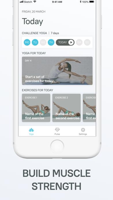 Heart Beat Rate. Daily yoga.のおすすめ画像6