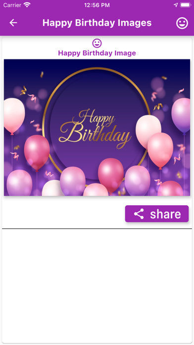 Happy Birthday Cards Wishes Screenshot