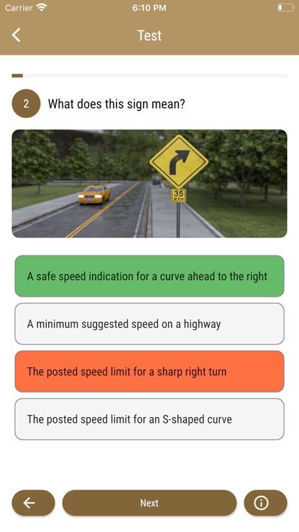 South Dakota DMV - Test Prep screenshot-4