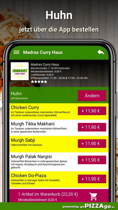 Madras Curry Haus Karlsruhe screenshot 5