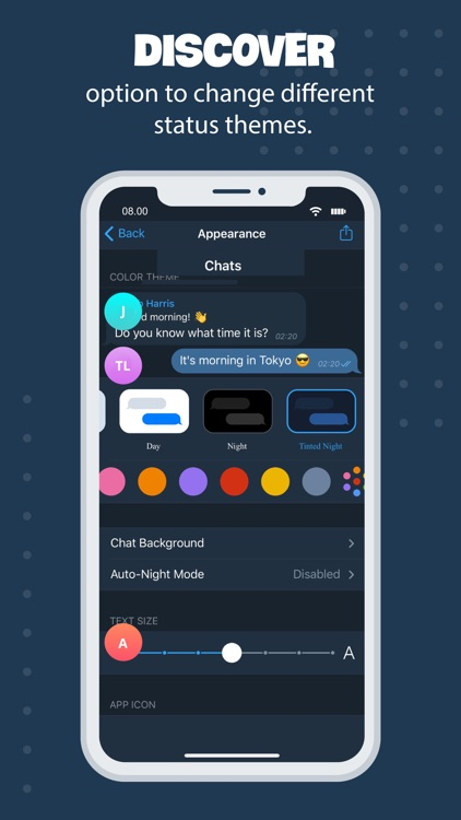 Tele Messenger Chat Secure screenshot-7