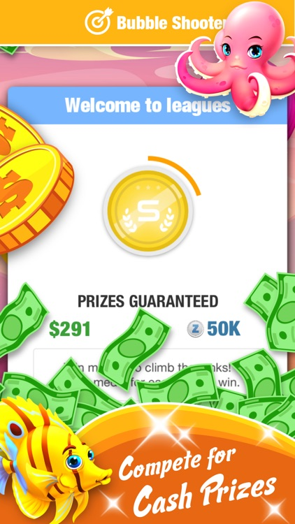 Bubble Shooter With Cash Prize screenshot-3