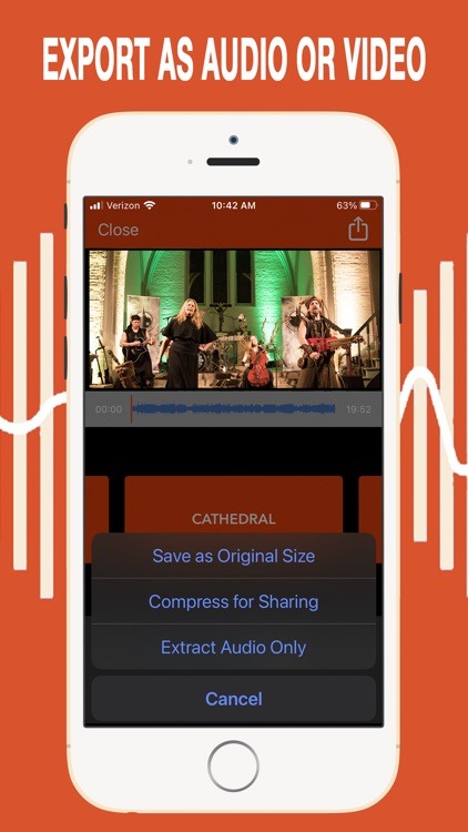 VideoVerb Pro: Reverb to Video screenshot-4