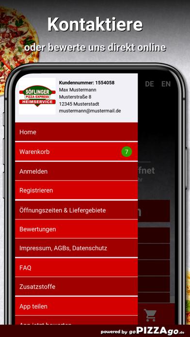 Söflinger Pizza Express Ulm screenshot 3