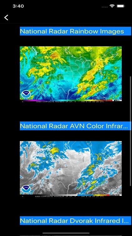 US NOAA Radars 3D Pro screenshot-7