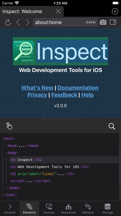 Inspect Browser