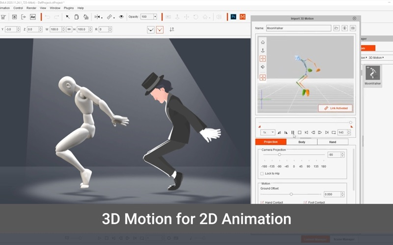 Скриншот №6 к Cartoon Animator 4 Pro для Mac