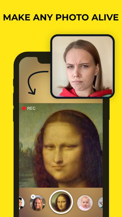 Avatarify: AI Face Animatorのおすすめ画像1