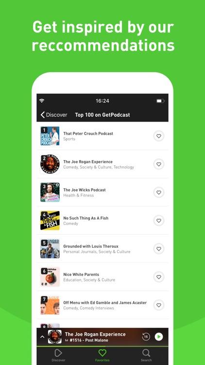 GetPodcast - Podcast Player screenshot-5