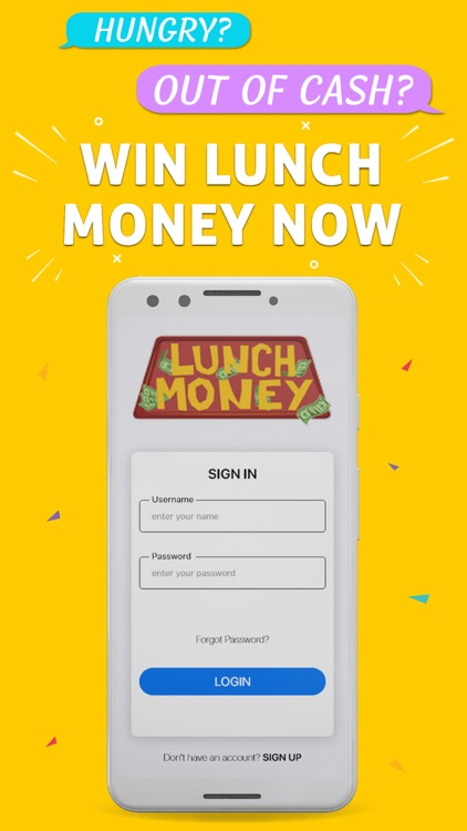 Lunch Money - Win Cash screenshot-0