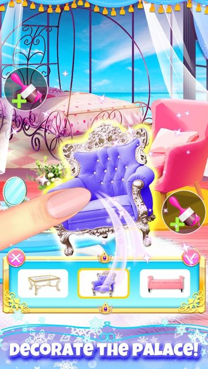 Princess Hair Salon Girl Games screenshot-4