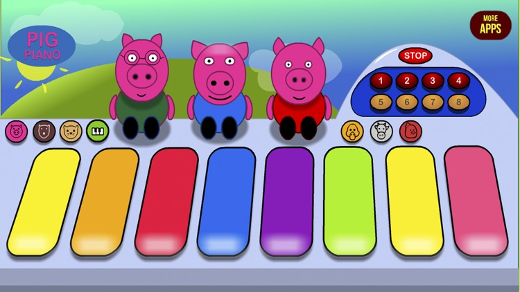 Pig Piano & Friends