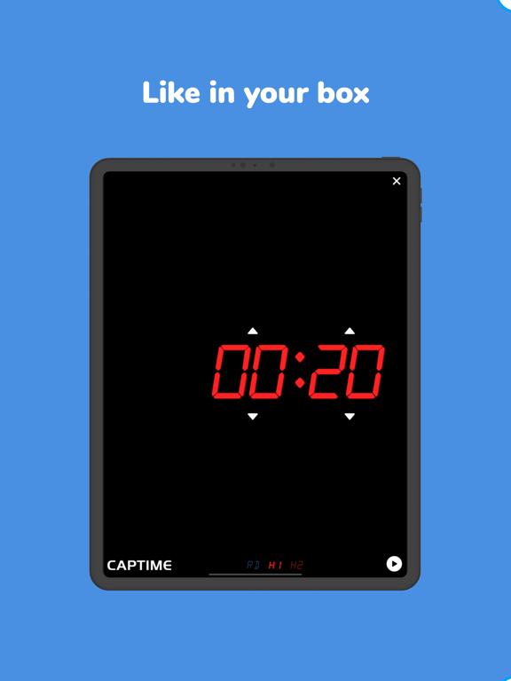 Screenshot #5 pour Captime - Crossfit Timer