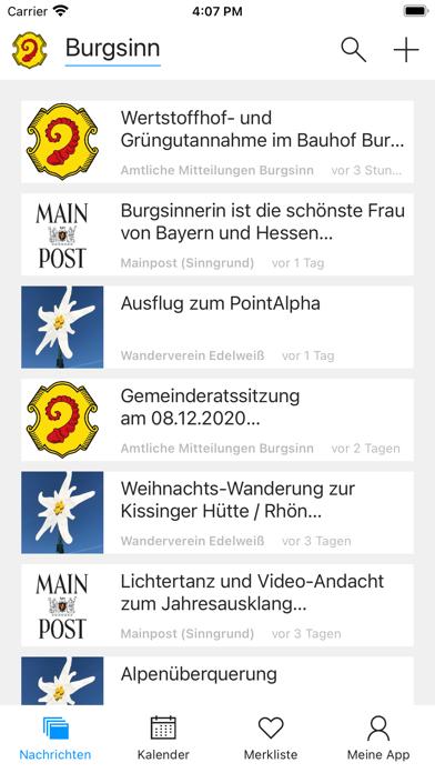 messages.download Burgsinn software