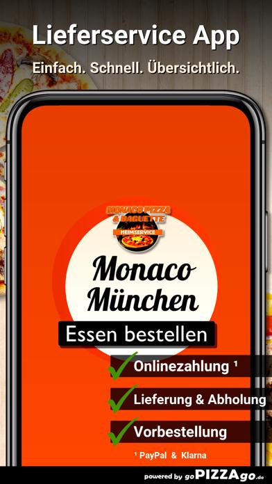 Monaco Pizza München screenshot 1