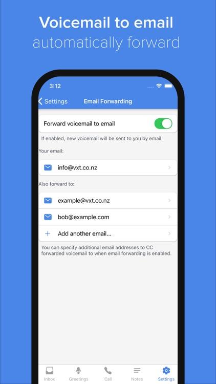 Vxt - Smart Voicemail App screenshot-3