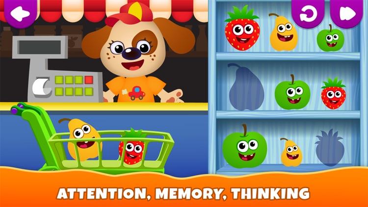 Kids Games! Learning 4 Toddler screenshot-7