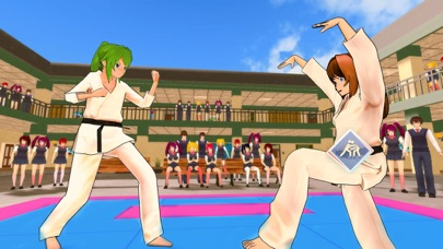 Anime School Summer Sports Day Screenshot on iOS