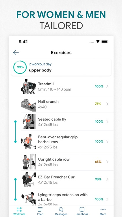 Workout app Fitness Online