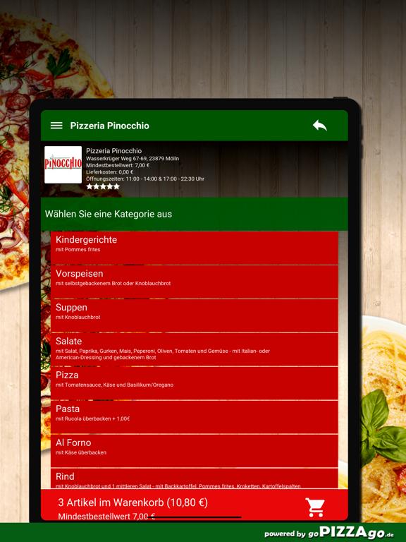 Pizzeria Pinocchio Mölln screenshot 8