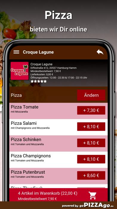 Croque Lagune Hamburg screenshot 4