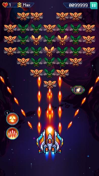 Galaxiga - Classic 80s Arcade screenshot 1