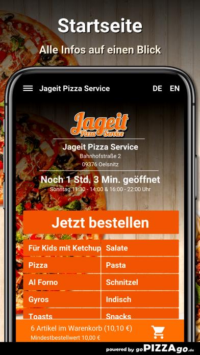 Jageit Pizza Service Oelsnitz screenshot 2