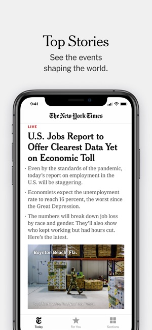 The New York Times On The App Store