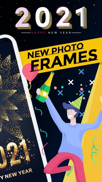 Happy New Year Frames 2021