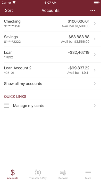 Monson Savings Mobile BankingScreenshot of 3