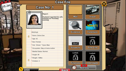 Detective Files Screenshot