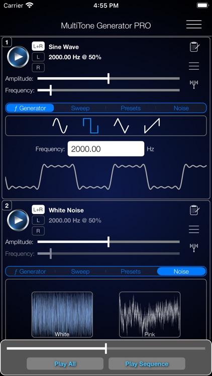 MultiTone Generator PRO screenshot-3