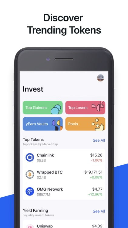 Zerion: Invest in DeFi