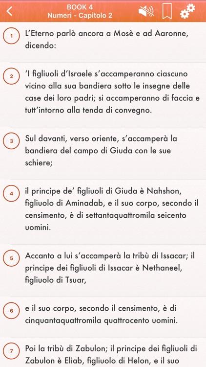 Italian Bible Audio Riveduta screenshot-7