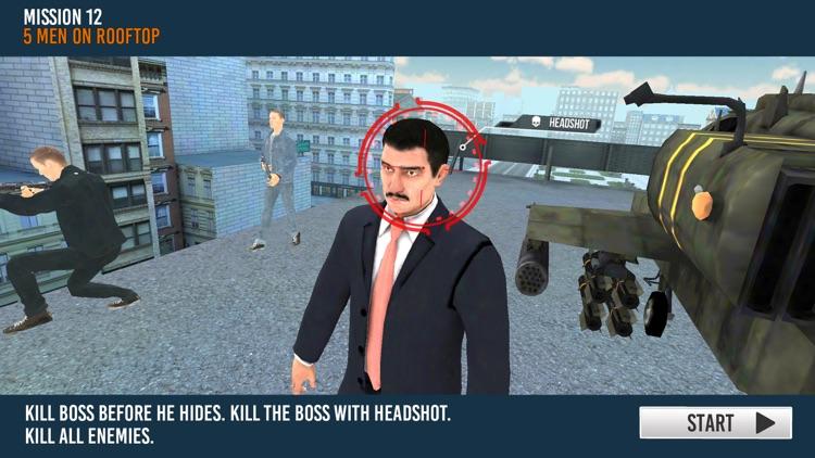 Modern Sniper Shooter 3d screenshot-5