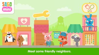 Sago Mini Neighborhood Blocks screenshot 2