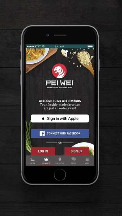 Pei Wei Online Ordering
