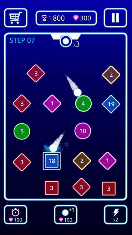 Bombs Drops - Physics balls screenshot-4